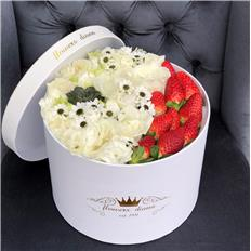 Deluxe White Strawberry box