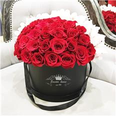 Maxi box Red Rose Orchidea Touch