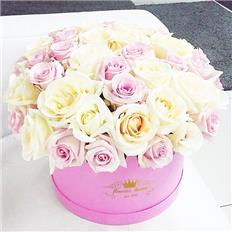 Maxi pink box Rose Mix