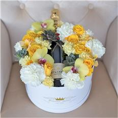 MOET BOX yellow